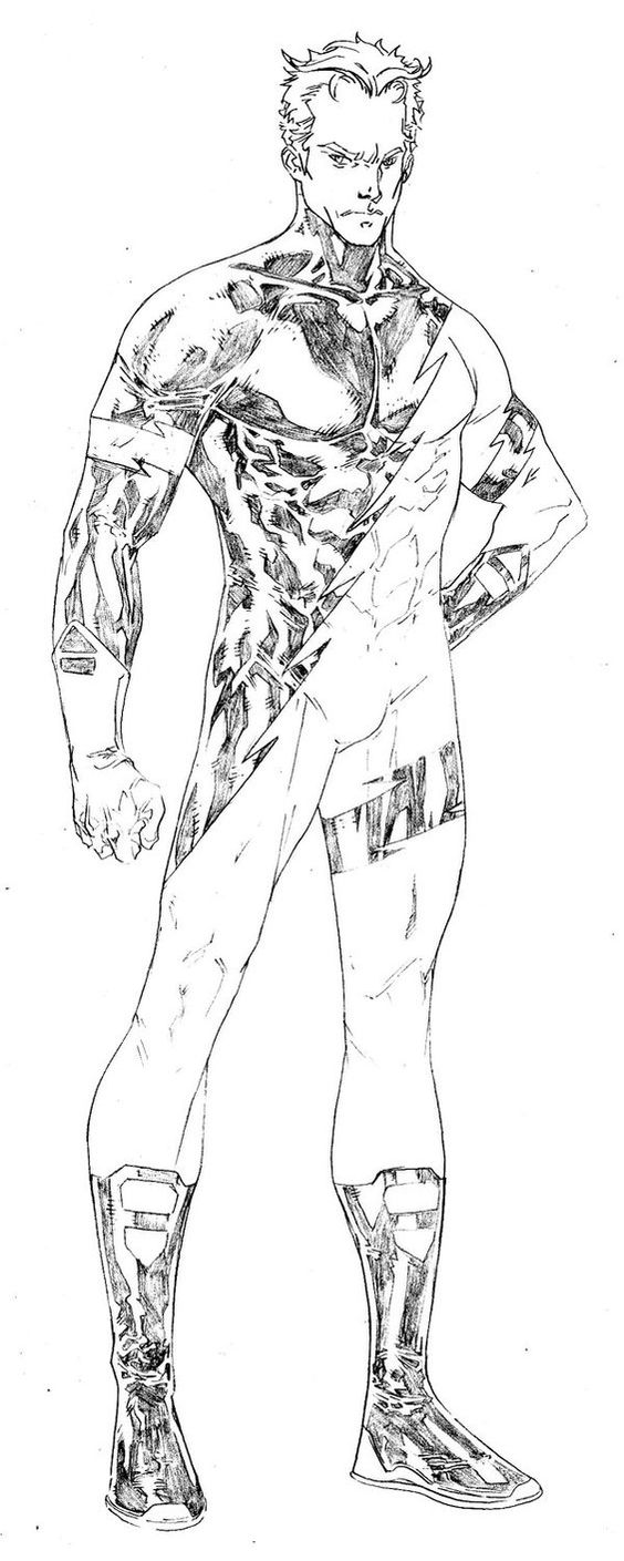 Quicksilver Coloring Pages - Quicksilver by spiderguile favorite comic drawings and paintings pinterest art