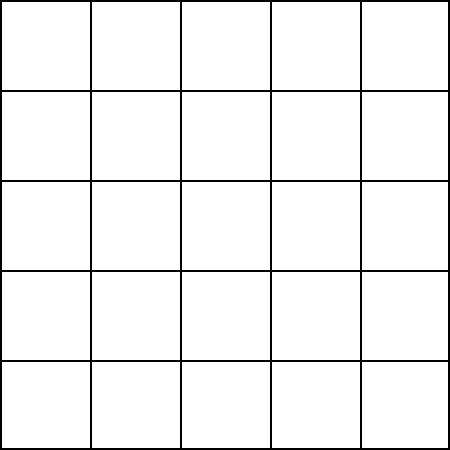 Blank Table Chart 5x5 blank grid paper 5 squares math forum: alejandre ...