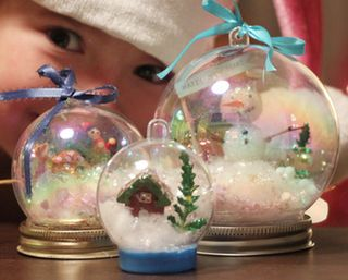 Waterless Snow Globes: Christmas Crafts, Waterless Snowglobes, Kids Crafts, Snow Globe Crafts, Winter Craft, Craft Ideas, Christmas Ideas, Kid Craft