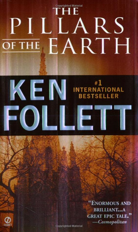 LOVE this book! Read it twice. Amazing storytelling, attention to detail and you learn some interesting things. I have read many of Ken Follett's books and enjoyed all of them.