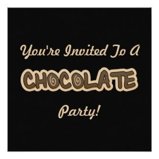 chocolate party - Google Search