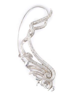 embellished single earring