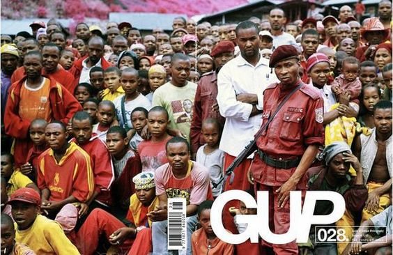 The Conflict Issue    Gup magazine #28 is hitting stores now!  It features a double cover shot by photographer Richard Mosse.