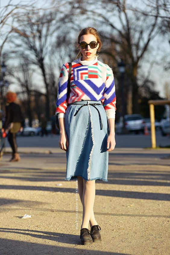 Parisienne: 22 Ways to Make Your Winter Sweaters Work For Spring