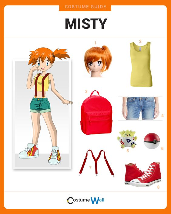 Dress Like Misty
