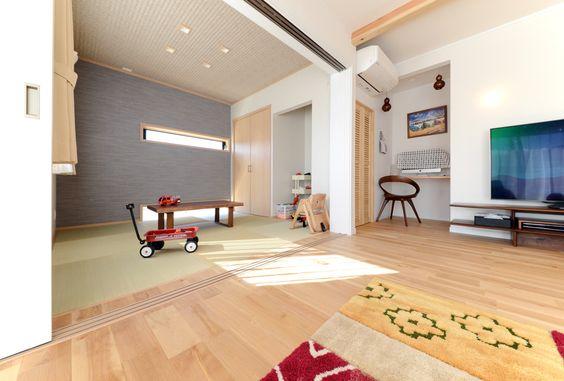 家族をつなぐぬくもりリビングの家 | 静岡の注文住宅なら静鉄ホームズ(旧:片瀬建設)