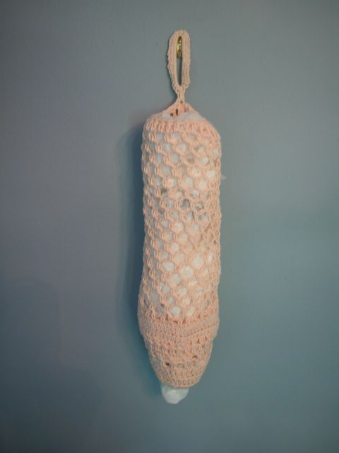 The Crochet Dude - free patterns: Grocery Bag Dispenser