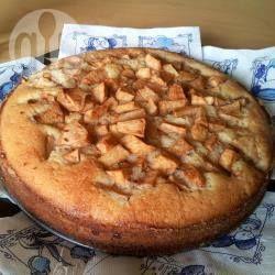 Gemakkelijke appelcake (of met nectarine, pruim, peer of mix)