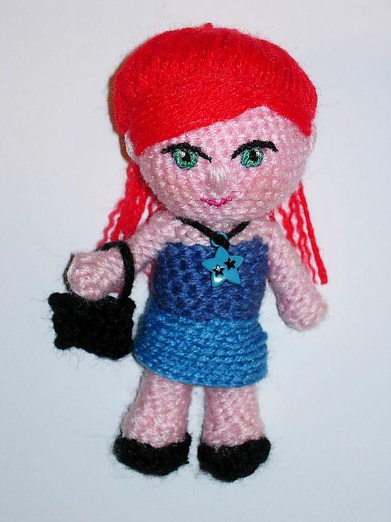 Amigurumi Doll Niña Paula  Finished doll by CrochetExpression, €9.90