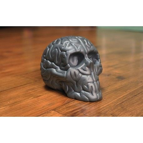 Skull Brain 'BLACK' by Emilio Garcia  available http://goo.gl/ijtJIU // 20%OFF With code SUMMERTIME  for all products !!! Go Go Go !!
