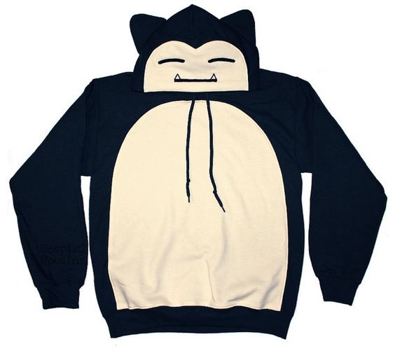 OMG! Another Have Snorlax Inspired Pullover Hoodie Made to Order by CosplayCousins, $70.00 #kawaii #cute: