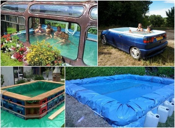 Swimming pools swimming and pools on pinterest for Build your own pool