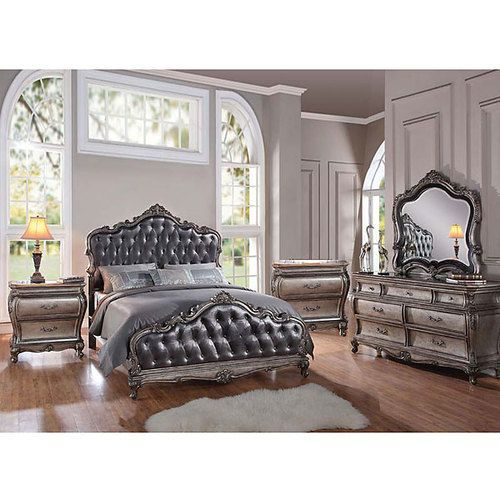 Chantilly Cal King Bedroom S 5 Classic Bedroom Furniture Classic Bedroom Bedroom Design