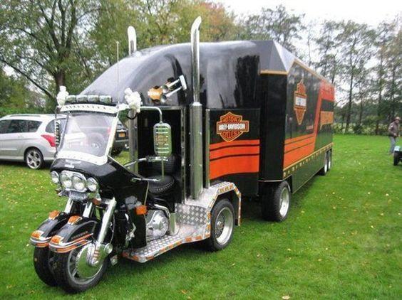 Harley Davidson Truck | RoadRoll