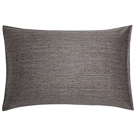Buy Calvin Klein Acacia Textured Standard Pillowcase, Quarry Online at johnlewis.com
