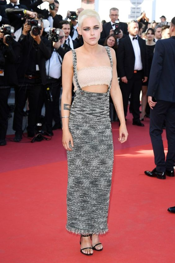 Best Dressed Stars on Cannes Red Carpet 2017 - Kristen Stewart in Chanel