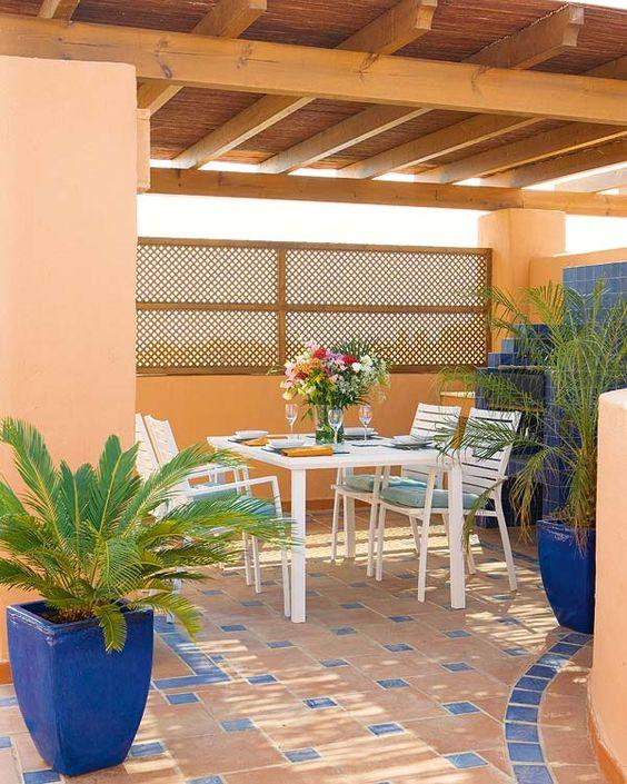 Muebles y p rgolas muebles y hamacas muebles de - Muebles de terrazas ...