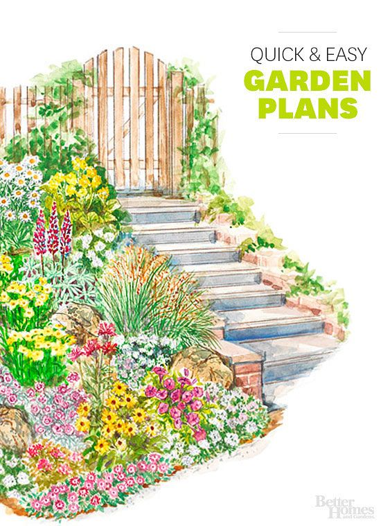 Garten planer garden plan 2013 farmhouse 5 digging into for Easy flower garden designs