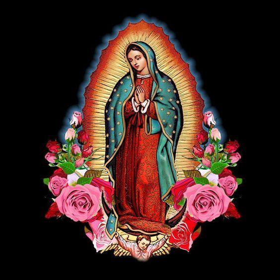 Oracion A La Virgen De Guadalupe Para Pedir Salud Y Bienestar Oracion Virgen Guadalupe Virgen De Guadalupe Fotos Nuestra Senora De Guadalupe