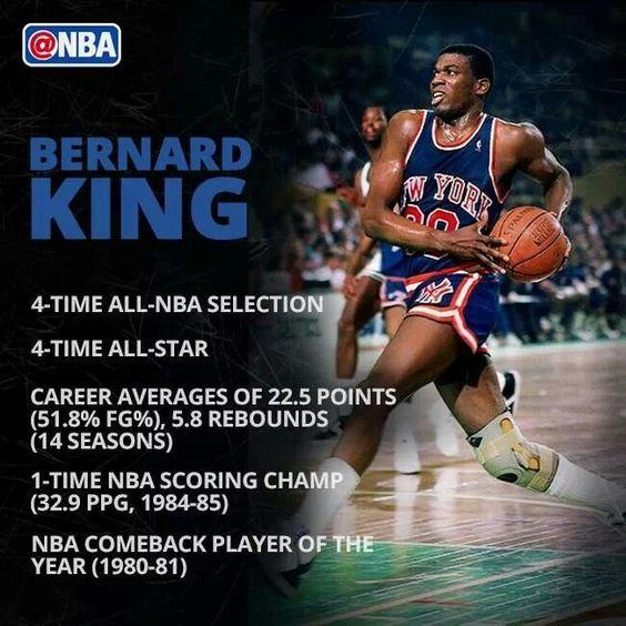 Bernard King - Knicks BBall legend