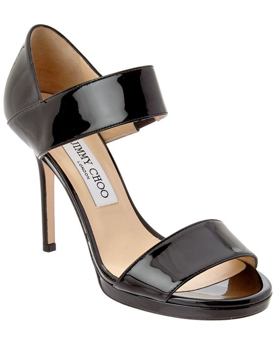 Jimmy Choo Alana Patent Sandal is on Rue. Shop it now.