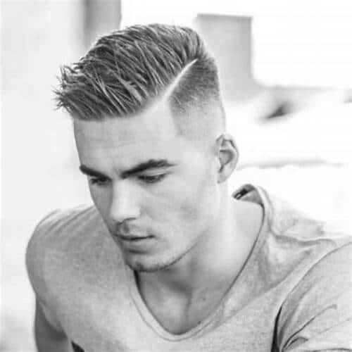 15 Matchless Short Undercut Hairstyles For Modern Men Mens Hairstyles Short Hard Part Haircut Thick Hair Styles