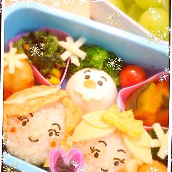 娘ちゃん大好きなアナ雪! ツムツムバージョンで(*≧艸≦) - 16件のもぐもぐ - アナ雪弁当♡ by neri0417