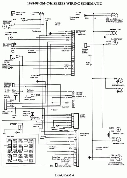 15 1990 Chevy Truck Brake Wiring Diagram Truck Diagram Wiringg Net In 2020 Chevy Silverado Repair Guide Electrical Diagram