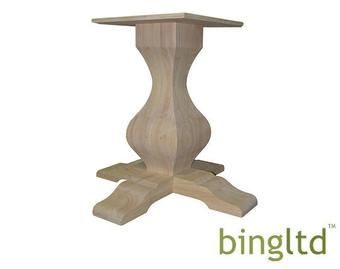 Pin By Adornments On Painted Furniture In 2021 Pedestal Table Base Wood Pedestal Table Base Table Base