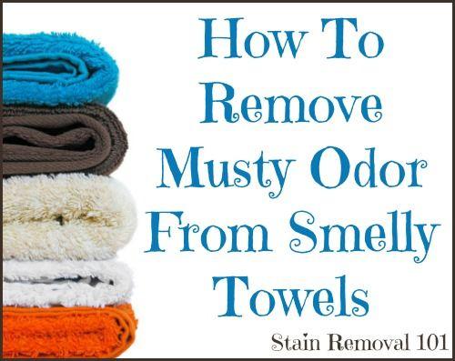 cómo eliminar el olor a humedad de las toallas malolientes