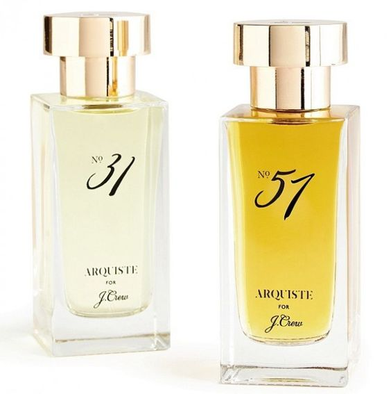 One of these smell amazing, can't remember which one, but go in and smell them! J.Crew's new 2 signature fragrances.