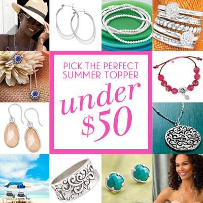 Summer's not over yet! Heat up your look with our finds under $50! Shop: https://mysilpada.com/sites/linda.lauer/public/content/jewelry/index.jsf