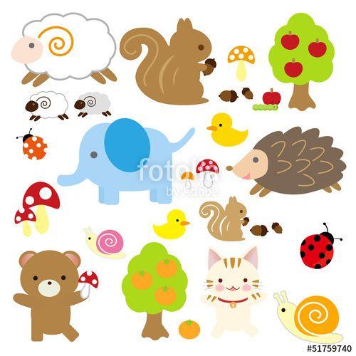 無料の印刷用ぬりえページ 無料ダウンロード 可愛い動物
