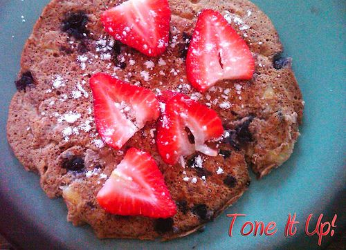 Low carb, low fat, protein pancakes