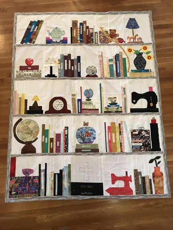 Bookshelf Quilt 2