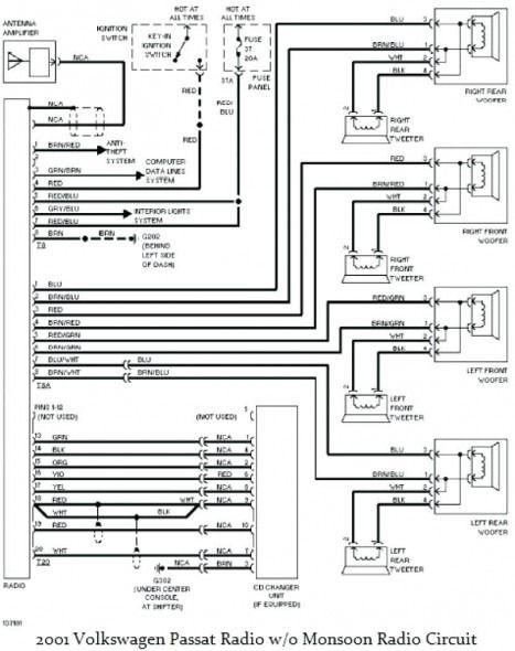 2002 volkswagen passat wiring diagram  pietrodavicoit