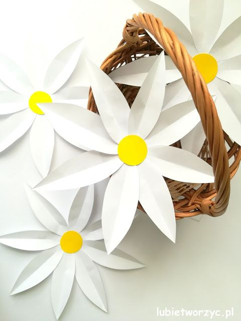 Sliczne Papierowe Stokrotki W Wersji Diy Stokrotka Daisy Stokrotki Diy Zrobtosam Kwiat Kwiat Paper Flowers Wedding Paper Flowers Flower Diy Crafts