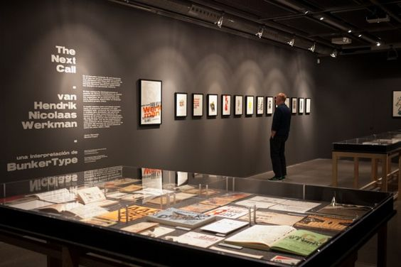 """Exposición """"The Next Call, van H. N. Werkman. Una interpretación de BunkerType"""""""