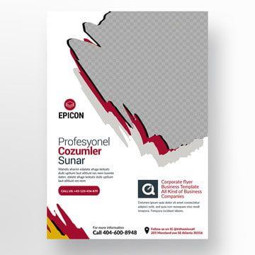A4 Paper Flyer Abstract Flyer Ad Advert Advertisement Agency Flyer Agency Publisher Agent Flyer Business Design Corporate Fl Desain Brosur Desain Banner Brosur