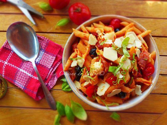 Salade de pâtes à la méditerranéenne