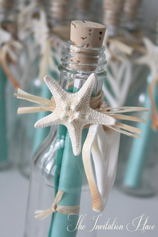 Stunning Hand Crafted Seychelles Message In A Bottle Wedding