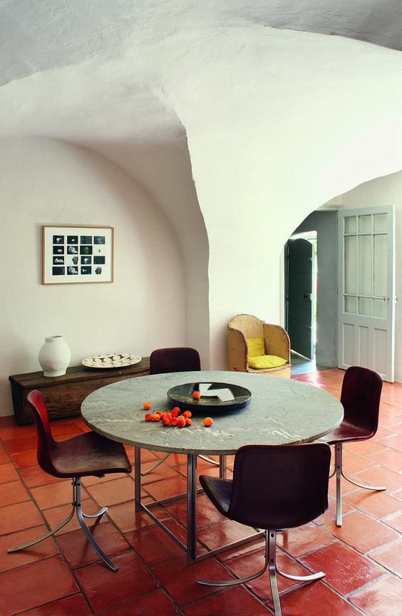 AD Russie / Hugues BOSC architectes / simplicité provençale / mas à Eygalières alpilles Provence