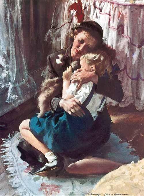 AnniMendy : Cuando la ilustración es Arte ¿Quien no recuerda historietas, publicidades y tanto talento? Anderson fue un gran pintor que describi... : Imáge
