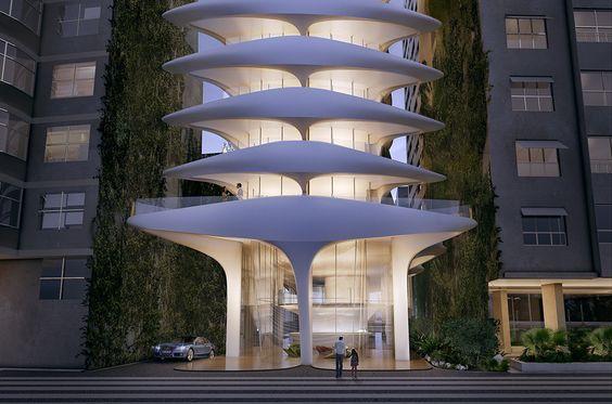 Casa Atlántica | Revista Arquitecto | Zaha Hadid Architects, Insite Arquitetos, Río de Janeiro, Brasil, multifamiliar, construcción del nuevo edificio