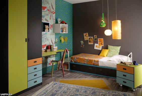 Dormitorio original juvenil