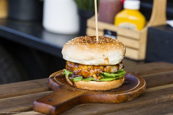 Burger Pork + Jimmy Barbeque