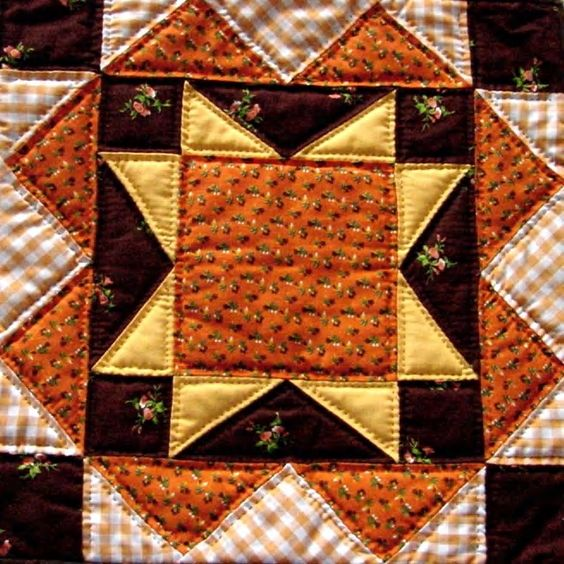 North Star Block - For The Underground Railroad Quilts, Meant for them to follow the north star ...