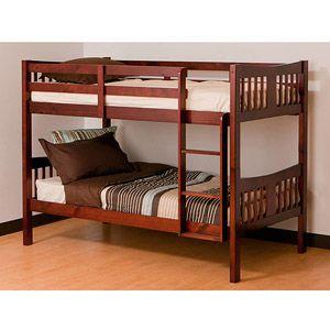Storkcraft caribou bunk bed cherry boys new room for Stork craft caribou bunk bed