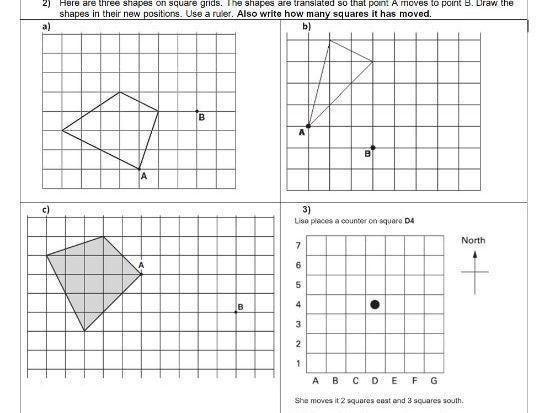 38 Transformation Math Worksheets Grade 6