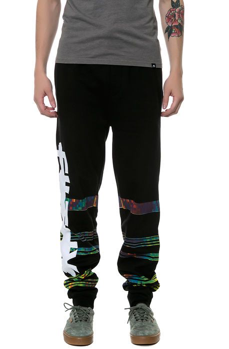 The Hologram Jogger Pants in Black by Filthy